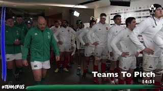 Tunnel Cam: Ireland v France Behind The Scenes