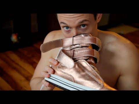 Smelling sneakers fetish stinky