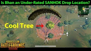 SANHOK Drop / Loot Location - BHAN - Under-Rated? | PUBG Mobile with DerekG