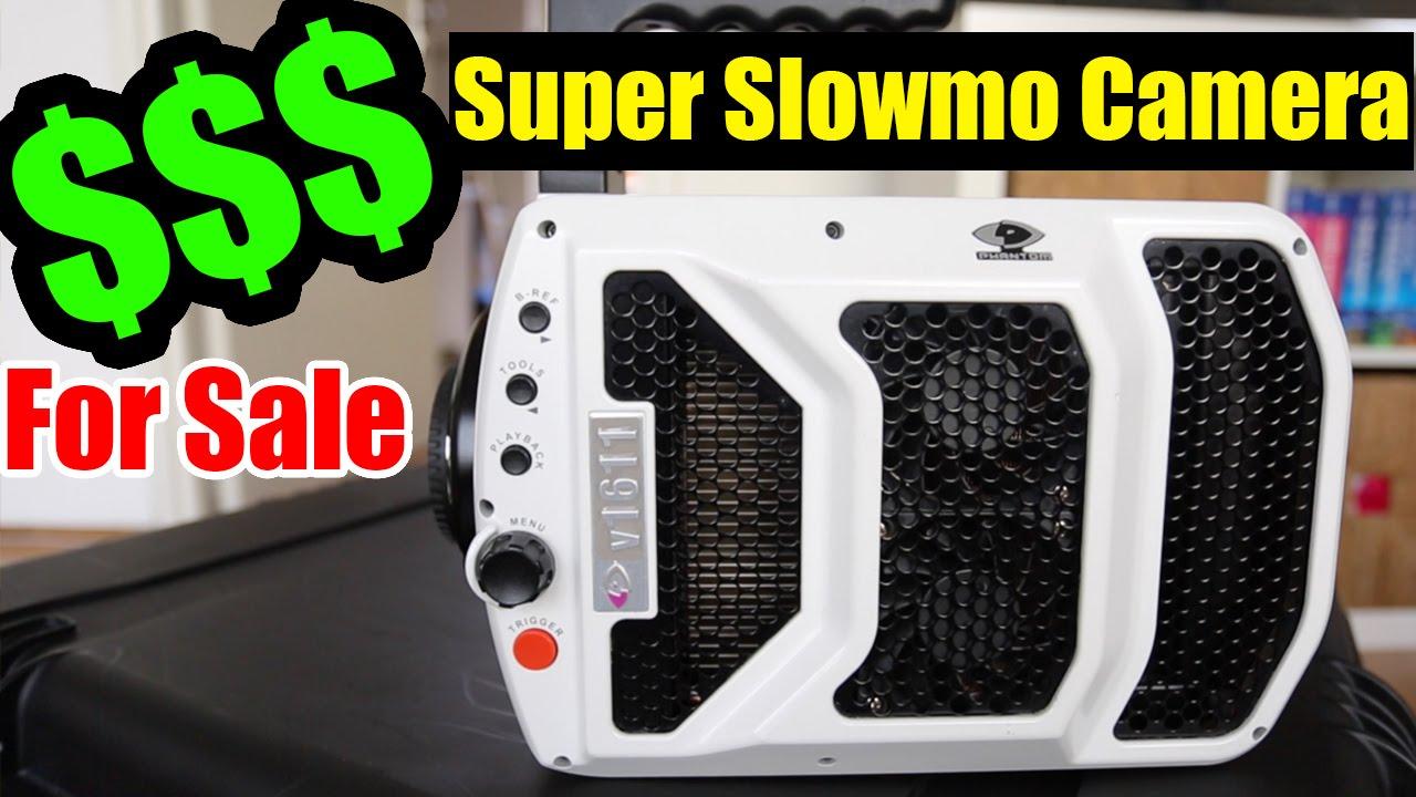 Phantom Slow Motion Camera - For SALE! - Phantom v1611 - YouTube