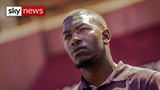 Black History Month: George Floyd's son speaks exclusively to Sky News
