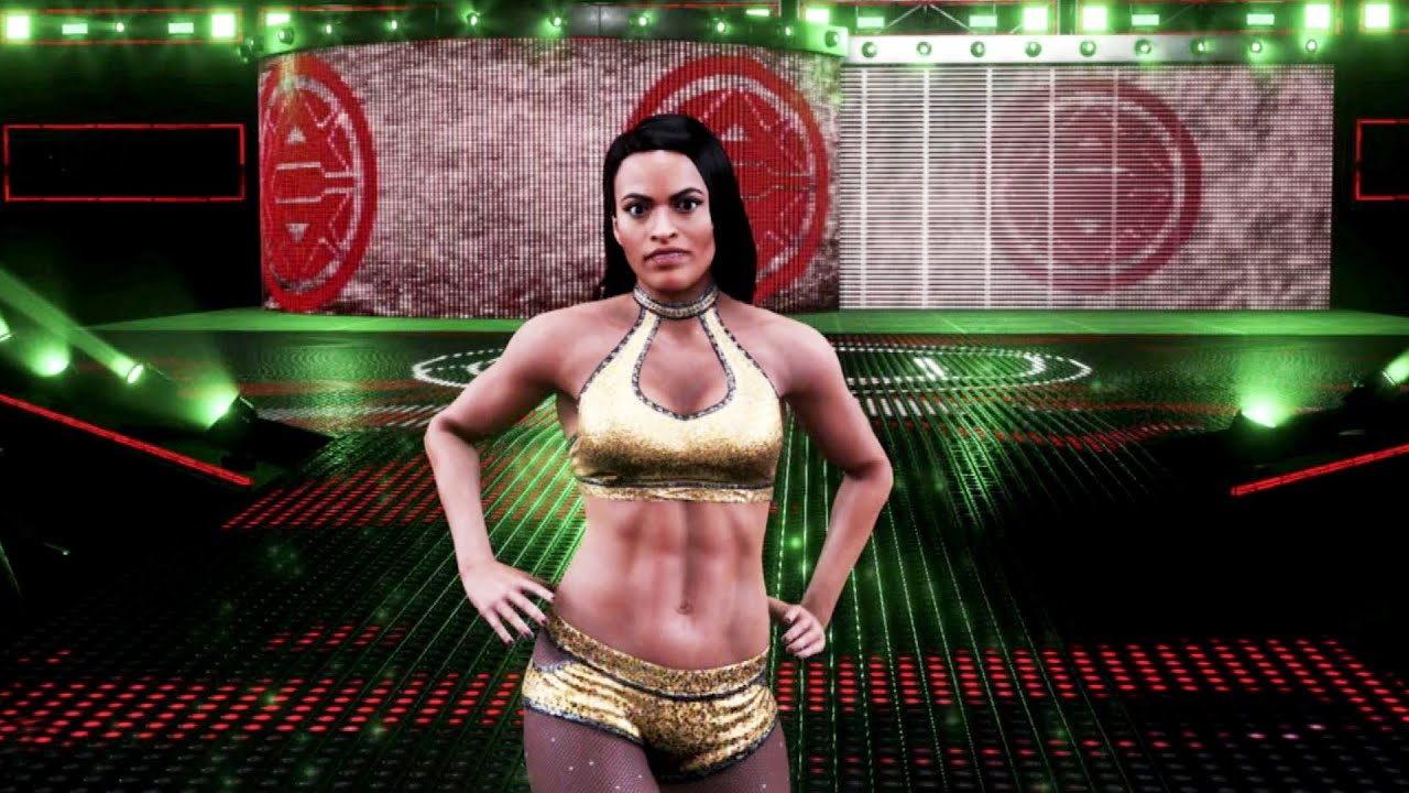 Zelina Vega WWE 2K20 entrance