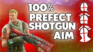 ADVANCED Shotgun AIM TIPS! Console Tutorial (Fortnite Battle Royale)100% Accuracy