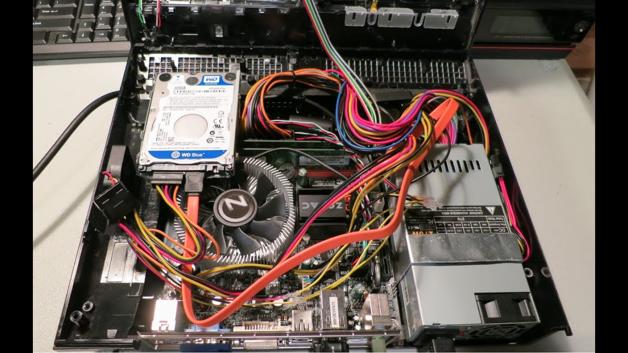 Pc Computer In A Ps3 Build Mod Part 1 Of 2 Youtube