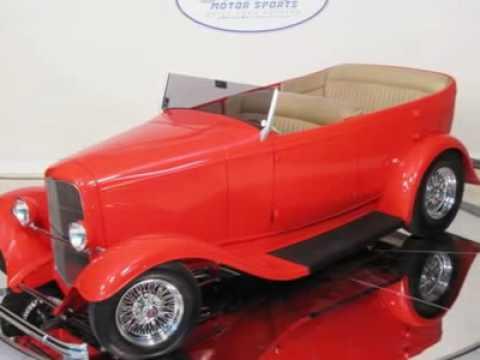 1932 Ford Phaeton 4dr Custom Hot Rod Austin Tx