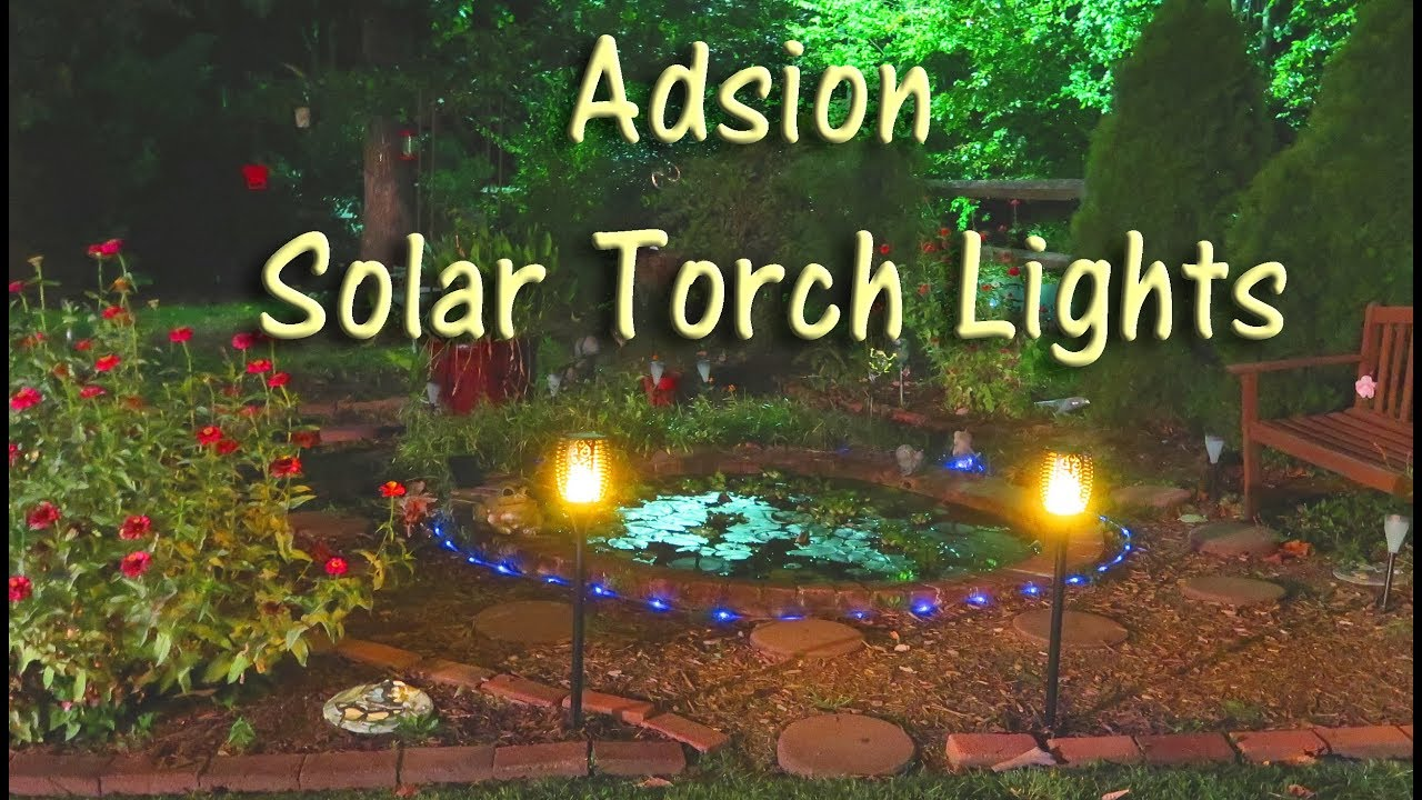 outdoor torch lighting. SOLAR TORCH LIGHTS 💥 ADSION OUTDOOR LANDSCAPE 💥SOLAR FLICKERING 🏵👈 Outdoor Torch Lighting L