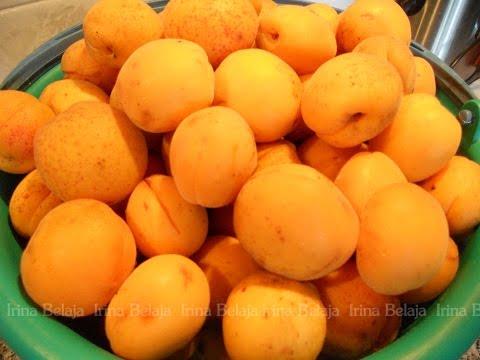 Как быстро удалить косточку из абрикоса