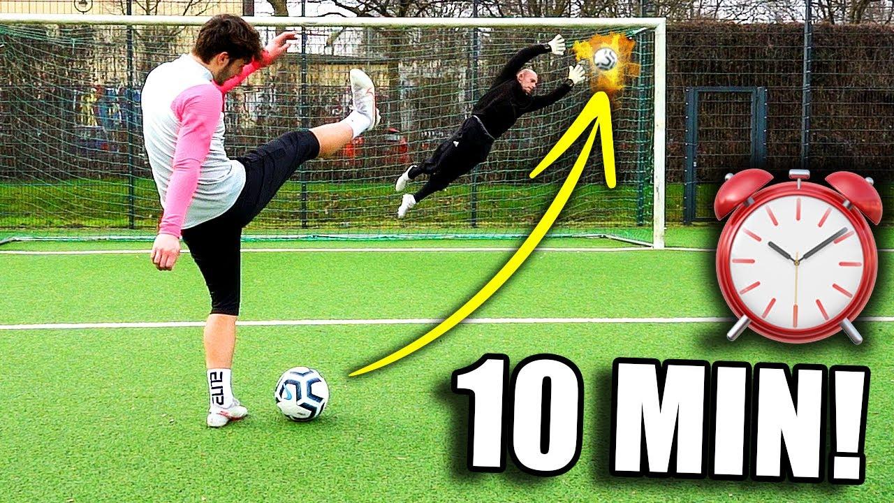 Ultimative 10 Minuten Torwart Challenge