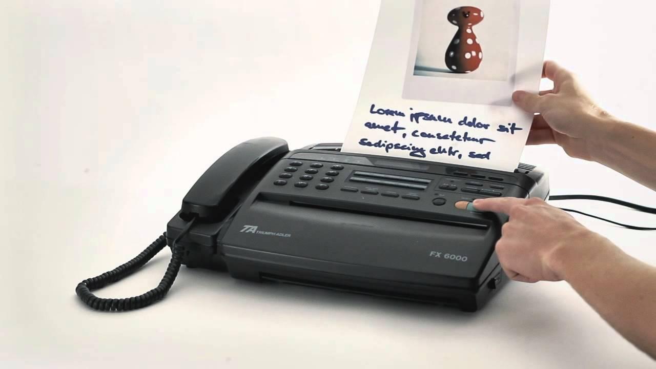 Fax Machine Youtube