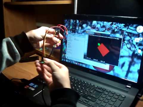 Arduino Pro Mini & gy-85 processing