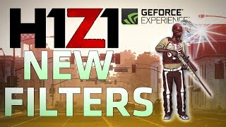 Best NVIDIA FILTERS for H1Z1! (Better Visibility)