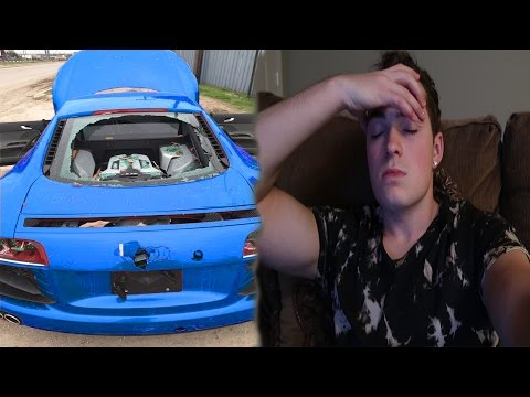 MY GIRLFRIEND DESTROYED MY CAR!!