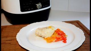 Рыба в Овощах в Мультиварке скороварке Redmond RMC P350 Рецепты в мультиварке скороварке