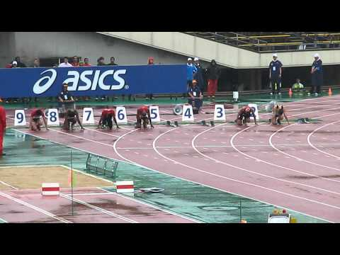 19th Asian Athletics Championships 2011 Men 100m Heat1.AVI