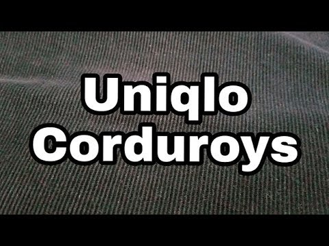 Corduroy | A Brief Overview And Uniqlo Review. Fall 2018 Style Essential.