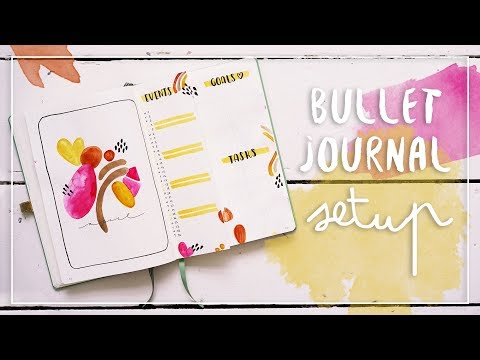 bullet-journal-setup-|-plan-with-me-april-|-wasserfarben-&-home-office-routine
