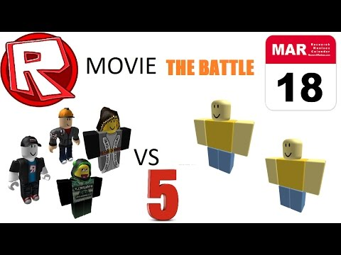 Admins VS Hackers 5 - March 18th - ROBLOX Movie by Roblox Minigunner