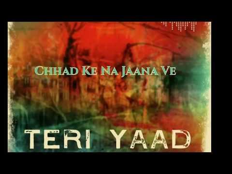 Teri Yaad | Yash Narvekar | New Song 2018 | Whatsapp Status