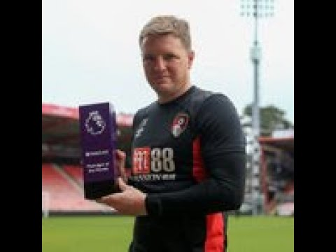 Bournemouth's Eddie Howe named Premier League manager of the month for January