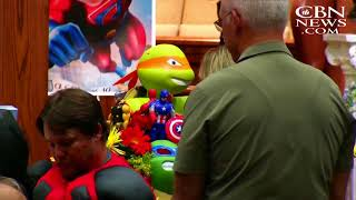 'Superheroes' Gather to Remember Six-Year-Old Jacob Hall