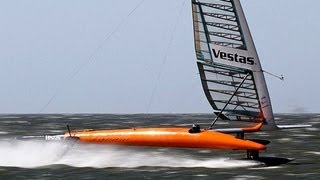 Vestas Sailrocket verbreekt World Speed Record
