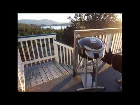 Patio Bistro Tru Infrared Electric Grill; Best Apartment Grill, Best  Outdoor Electric Grill   YouTube