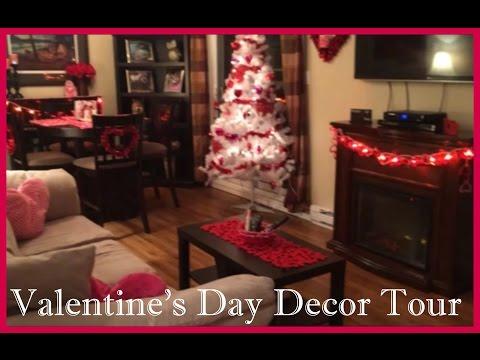 Valentine's Day Decor Tour 2015