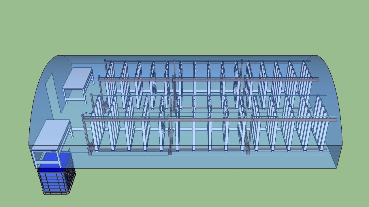 Building A Greenhouse System With Sketchup Youtube