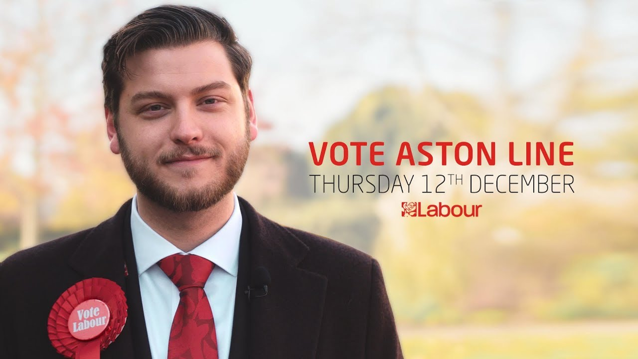 Vote Aston Line for Southend West, 2019