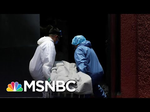 Sky News: Mexico City's Morgues Packed In Pandemic | MSNBC