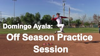 Off Season Practice Session with Domingo Ayala