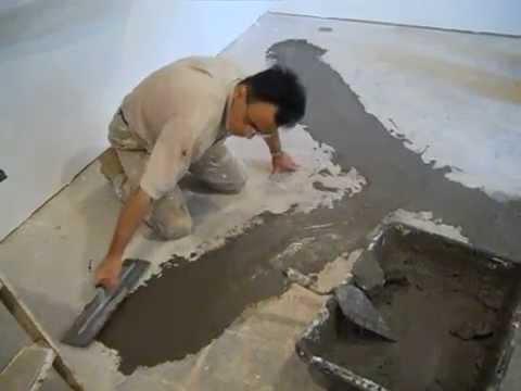 Repair Cracks And Water Leaks In Basement Floor Part 3