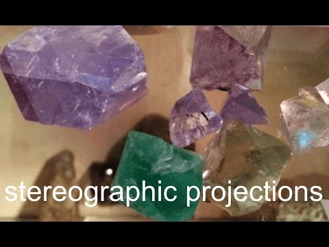 Stereographic projections in crystallography  (2016) - lecture 3