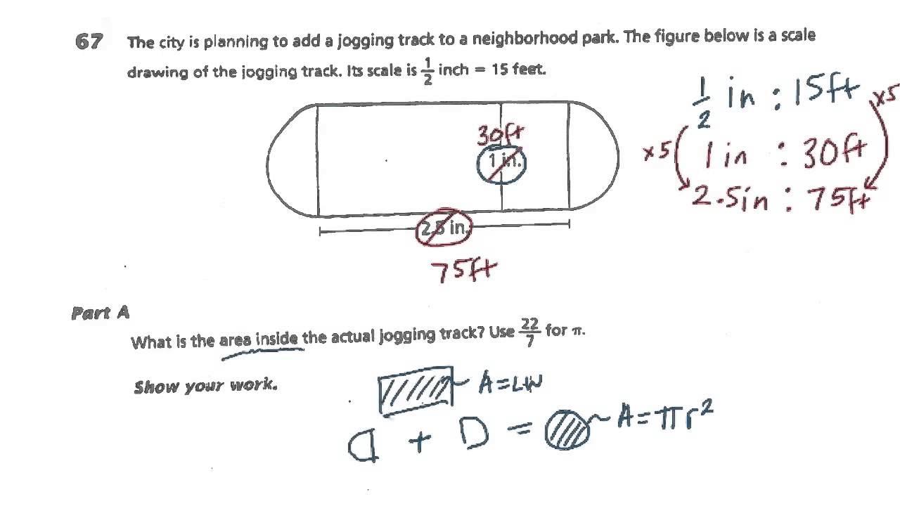 7th Grade Math - Test Prep - Book 3