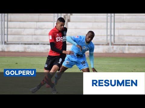 Resumen: Deportivo Binacional vs. FBC Melgar (2-4)