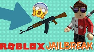 COMO COMEÇ O AK47 NO JAILBREAK!!! Roblox