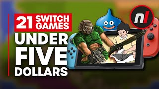 21 Best Switch Games for Under $5