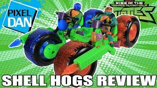 Shell Hogs Rise of the TMNT Ninja Turtles Vehicles Video Review