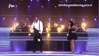 Dans Reinout & Kim-Lian - Strictly Come Dancing Afl.1