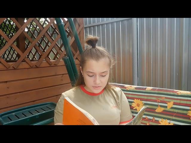 Изображение предпросмотра прочтения – ПолинаБогданова читает отрывок изпроизведения «Обломов» И.А.Гончарова