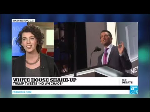 """THE DEBATE - White House Shake-Up: Trump tweets """"No WH chaos!"""""""