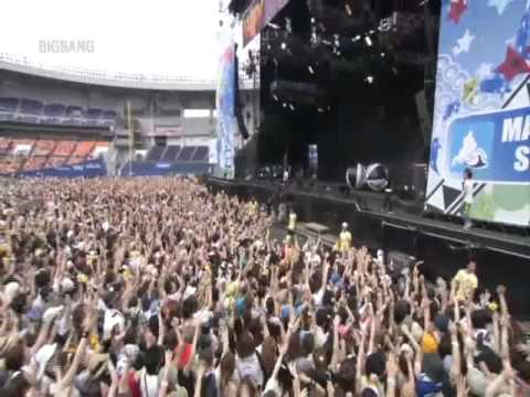 Big Bang  Beautiful Hangover and Hands Up 100808 SUMMER SONIC 2010 TOKYO