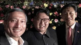 "Trump-Kim summit: A made-in-Singapore ""bromance"""