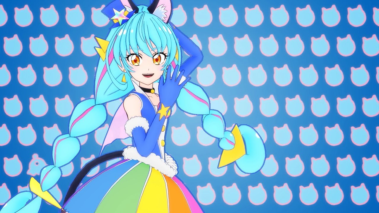 MMD Precure】Cure Cosmo Papepipu☆Romantic - pretty cure video - Fanpop