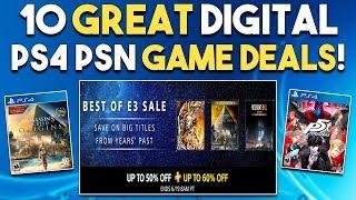 10 GREAT PS4 PSN Digital Game Deals NOW! PSN BEST of E3 Games SALE!
