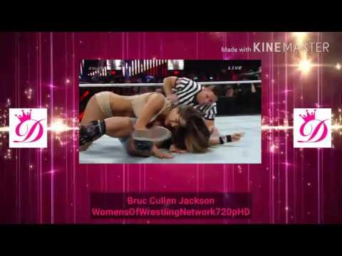 WWE TLC 2014 Nikki Bella vs AJ Lee