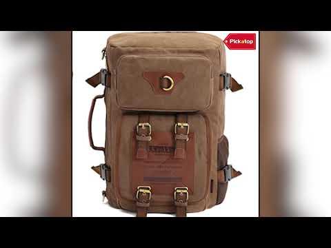 Outdoor Travel Men Backpack - Vintage Rucksack -
