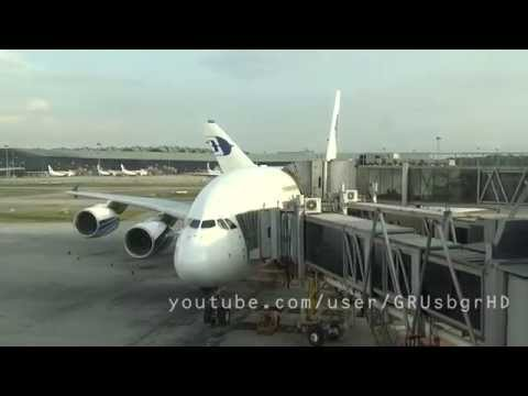 |HD| Malaysia Airlines A380-800 Kuala Lumpur - London MH4