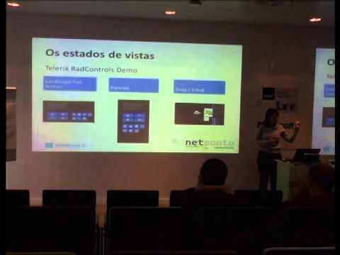 Case studies about Layout & View States & Scale in Windows 8 Store Apps - Sara Silva