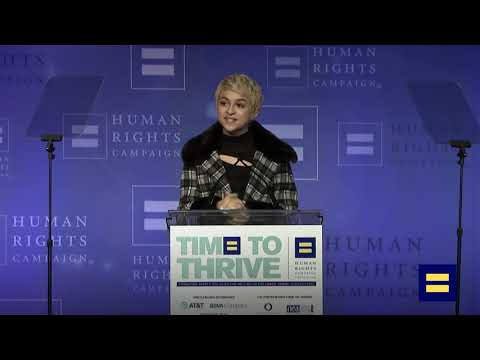 Josie Totah Honored at the 2019 HRC Time To THRIVE